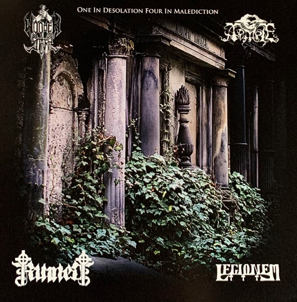 Temple / Wooden Stake / Ruined / Legionem - One in Desolation Four in Malediction