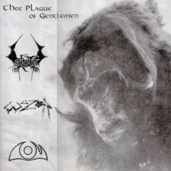 Thee Plague of Gentlemen / Sloth / Wuzor / D.O.M. - 4 Way Doom Death Sludge Core Split 12 Inch LP