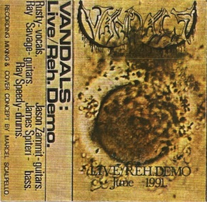 Vandals - Live/Reh. Demo June 1991