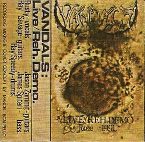 Vandals - Live/Reh. Demo June 1991
