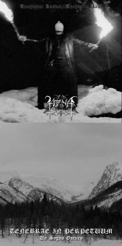 Horna / Tenebrae in Perpetuum - Unohdetut kasvot, unohdettu ääni / Un sogno oscuro