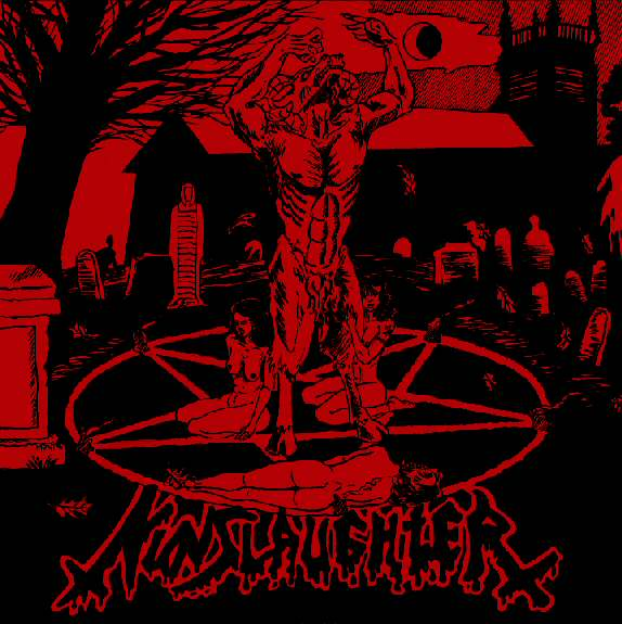 Nunslaughter / Crucifier - Trafficking with the Devil