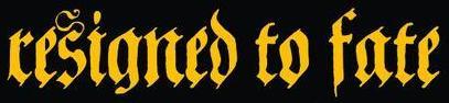 Resigned to Fate - Logo