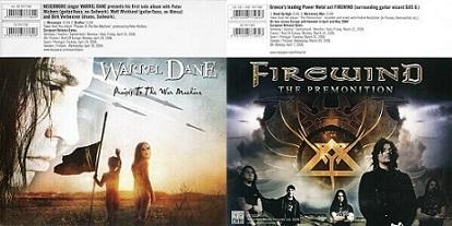 Firewind / Warrel Dane - Praises to the War Machine / The Premonition