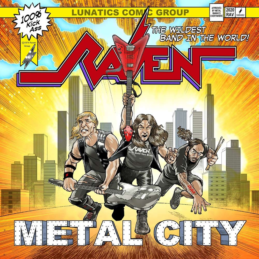 Raven - Metal City