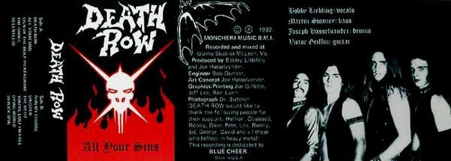 Death Row - All Your Sins