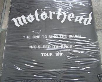 "Motörhead - The One to Sing the Blues ""No Sleep 'til Spain"" Tour 1991"