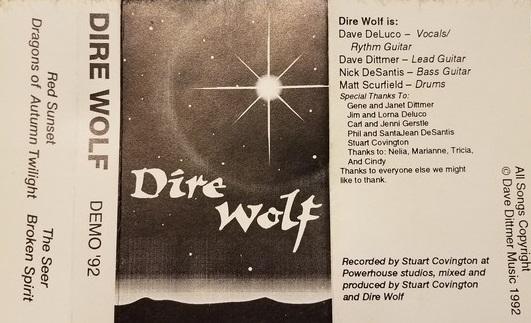 Dire Wolf - Demo '92