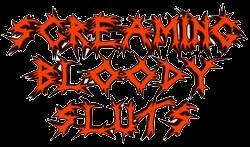 Screaming Bloody Sluts - Logo
