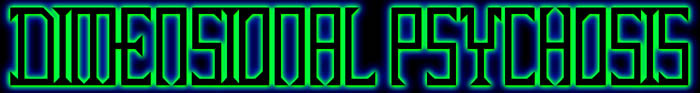 Dimensional Psychosis - Logo