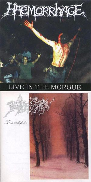 Haemorrhage / Depression - Zur Stille finden / Live in the Morgue