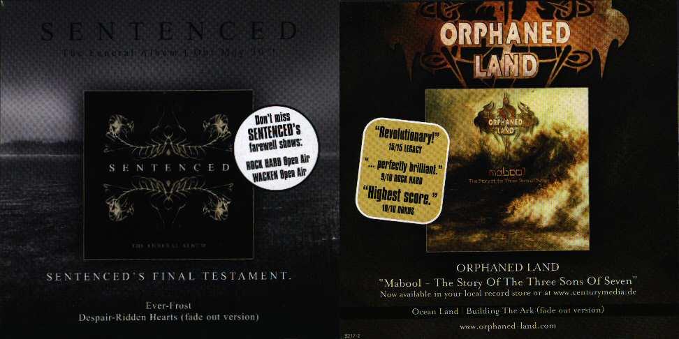 Sentenced / Orphaned Land - Sentenced / Orphaned Land