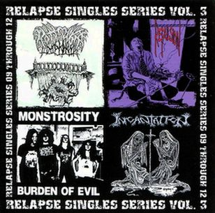 Incantation / Monstrosity / Repulsion / Rottrevore - Relapse Singles Series Vol. 3