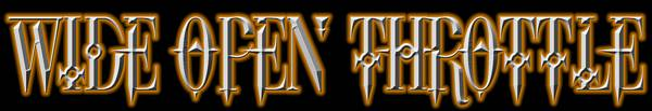 Wide Open Throttle - Logo