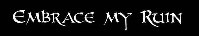 Embrace My Ruin - Logo