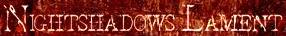 Nightshadows Lament - Logo