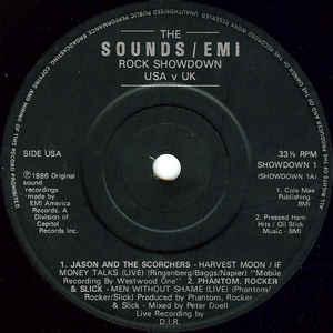 Saxon - The Sounds / EMI Rock Showdown USA v UK