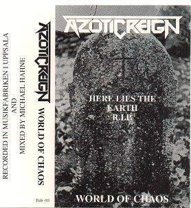 Azotic Reign - World of Chaos