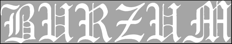 Burzum - Logo