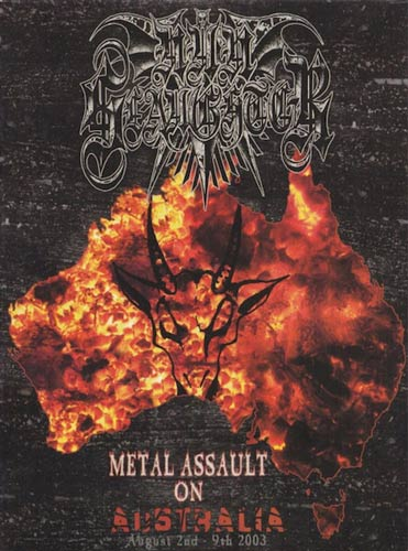 Nunslaughter - Metal Assault on Australia