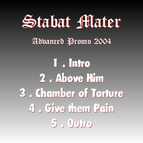 Stabat Mater - Rehearsal (a.k.a. Promo 2004)