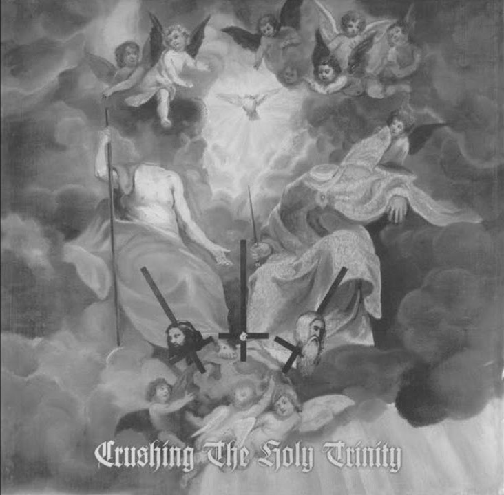 Clandestine Blaze / Deathspell Omega / Musta Surma / Stabat Mater / Exordium / Mgła - Crushing the Holy Trinity