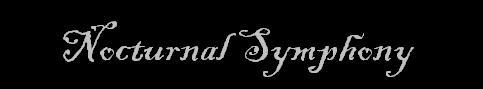 Nocturnal Symphony - Logo