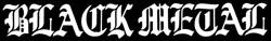 Black Metal - Logo