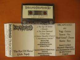 Decapitated - The Eye of Horus