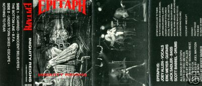 Epitaph - Iniquity Reigns