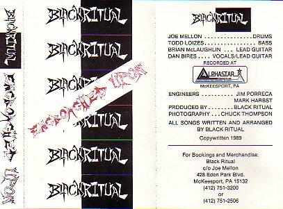 Black Ritual - Encroached Upon