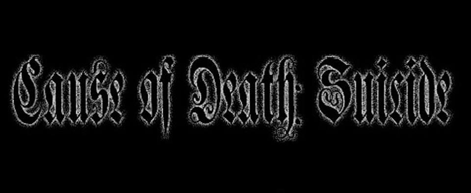 Cause of Death: Suicide - Logo