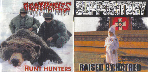 Agathocles / Suppository - Raised by Hatred / Hunt Hunters