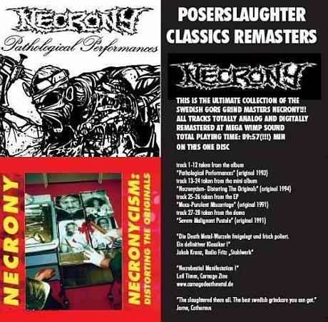 Necrony - Poserslaughter Classics Remasters