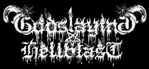 Godslaying Hellblast - Logo