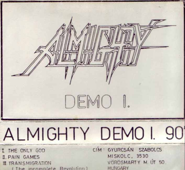 Almighty - Demo I