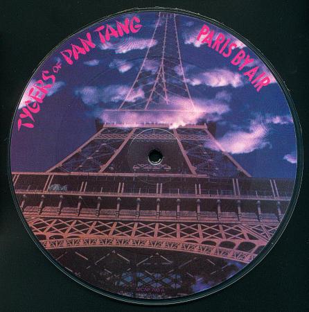 Tygers of Pan Tang - Paris by Air