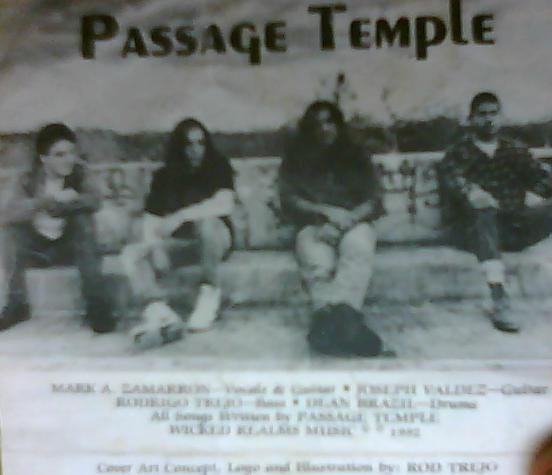 Passage Temple - Photo