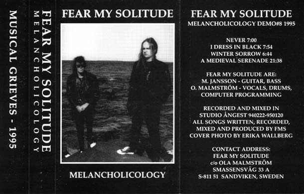 Fear My Solitude - Melancholicology