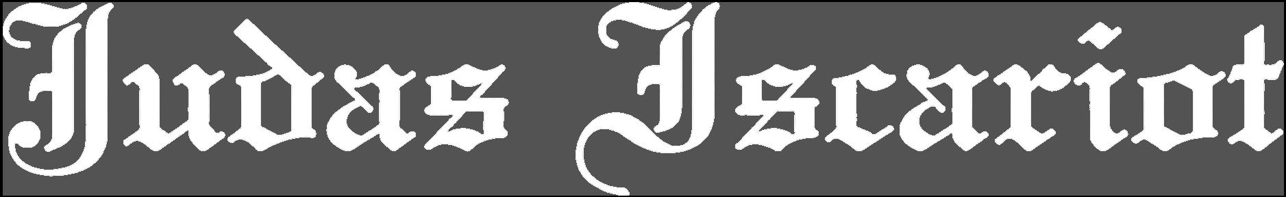 Judas Iscariot - Logo