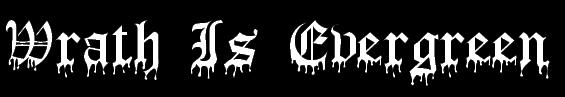 Wrath Is Evergreen - Logo
