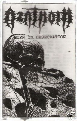 Azathoth - Burn in Desecration