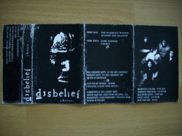 Disbelief - Choice