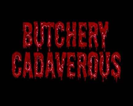 Butchery Cadaverous - Logo