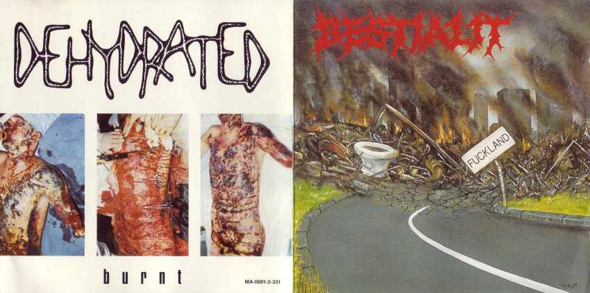 Dehydrated / Bestialit - Fuckland / Burnt