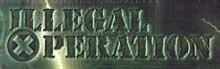 Illegal Operation - Logo
