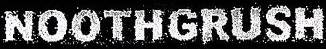 Noothgrush - Logo