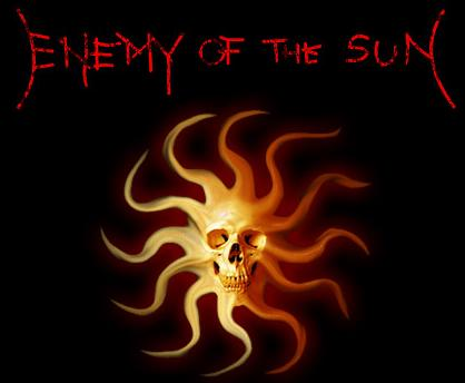 Enemy of the Sun - Logo