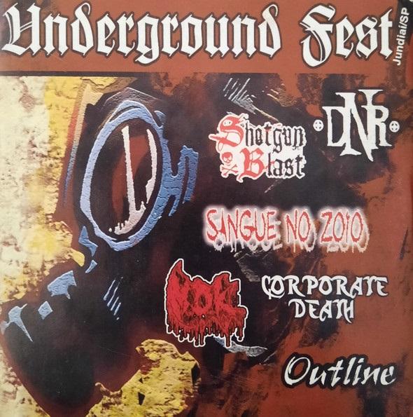 M.D.K. / Corporate Death / D.N.R. / Shotgun Blast - Underground Fest