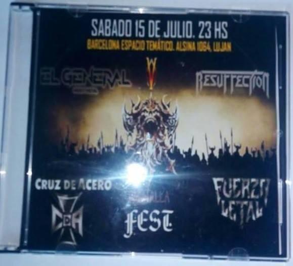 Fuerza Letal / Cruz de Acero / El General / Resurrection - Valhalla Fest